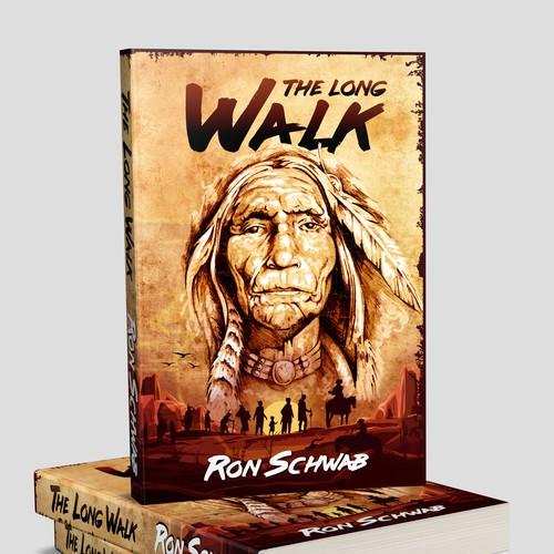 "Book cover ""The Long Walk"" - Ron Schwab"