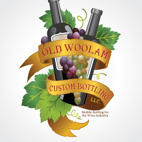 Old Woolam Custom Bottling LLC needs a new logo