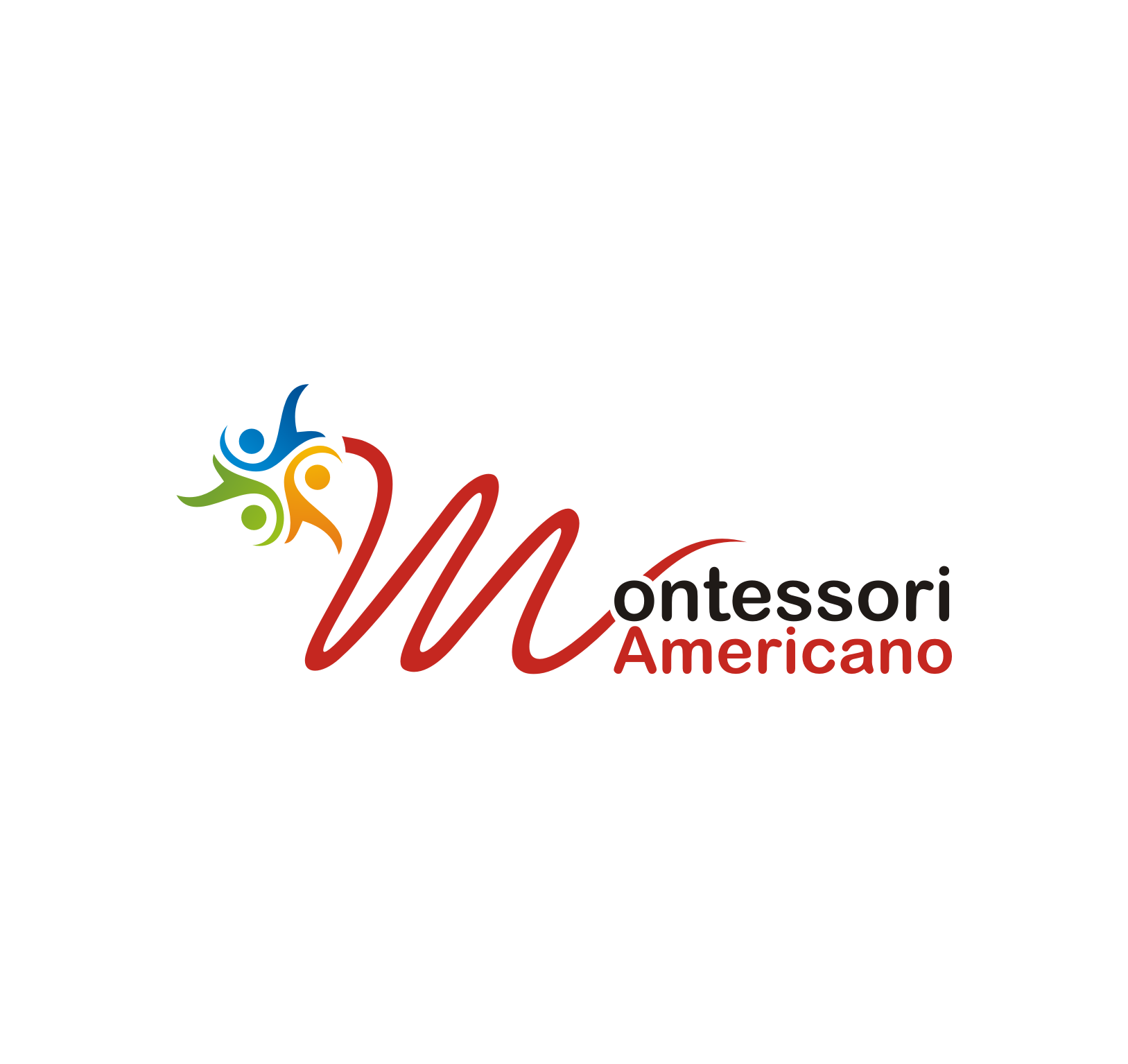 new logo for Montessori Americano