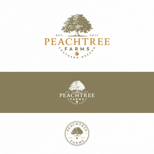 Tree logo for rural farmstead