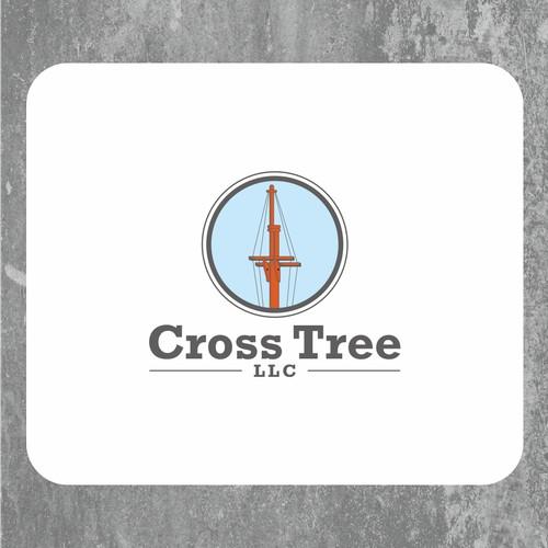concept logo for tallship constructions