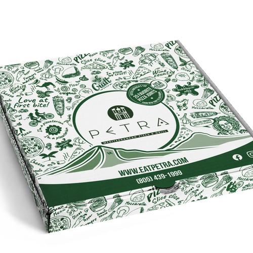 Pizza box design