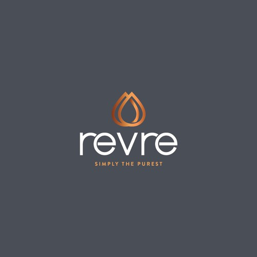 Minimalist logo for Revre