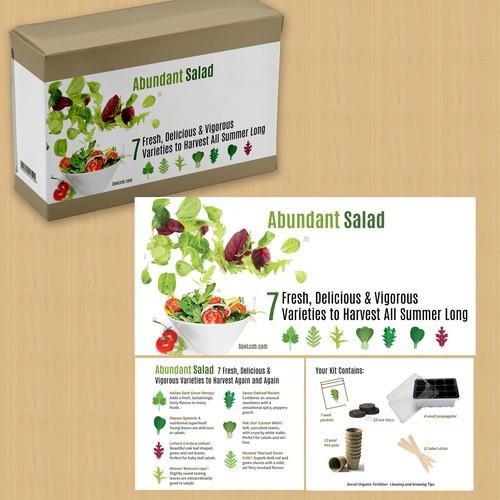 Abundant Salad Box Wrap