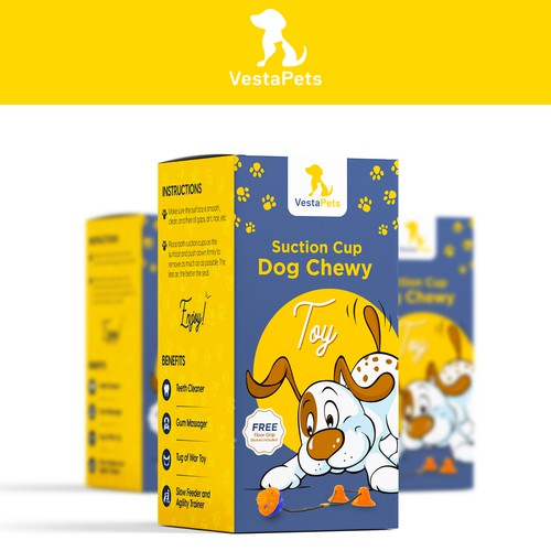 Dog Chewy Box Design