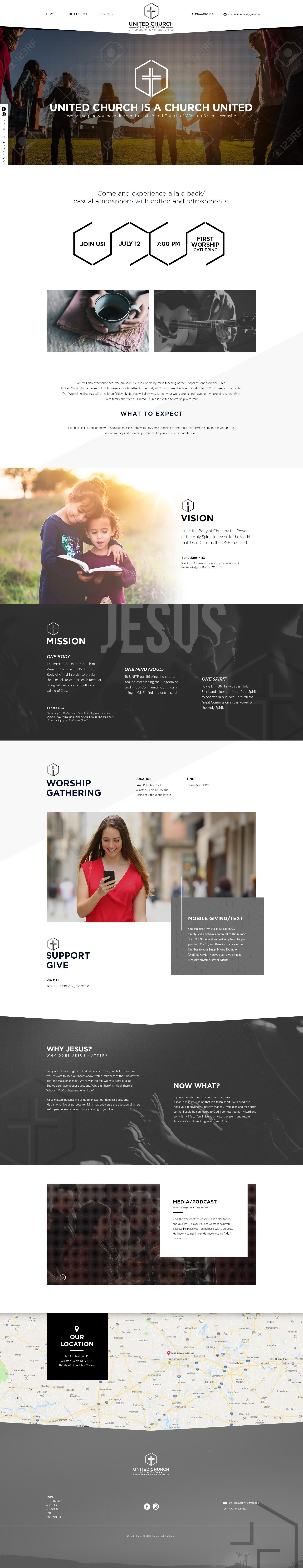 United Church website