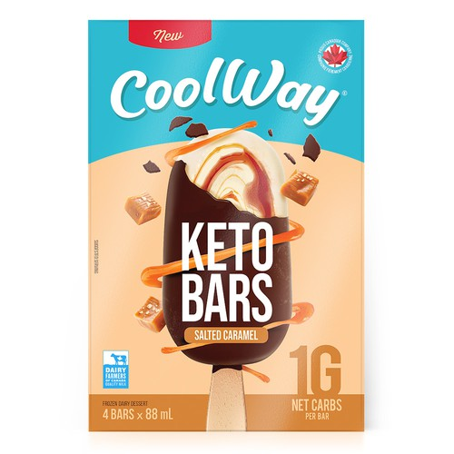 CoolWay Keto Ice Cream Bars