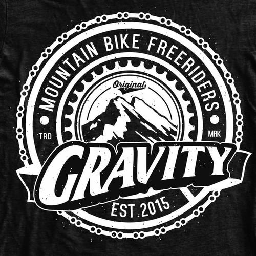 Downhill / Freeride Design T-shirt Creation