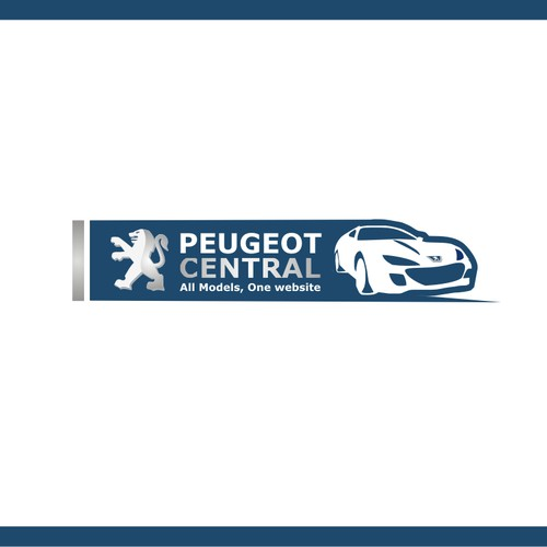 Logo for a Global Peugeot Community website