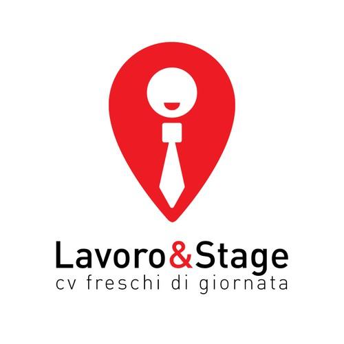 Logo per sito di offerte di lavoro