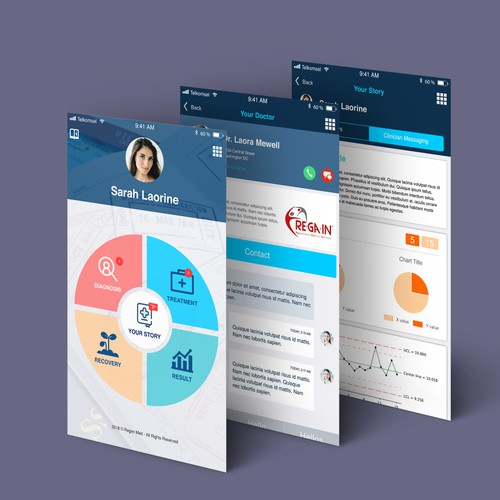 Patient Passport app for Clinical Software