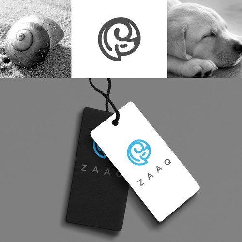 The concept of snails and dogs for a fashion brand.