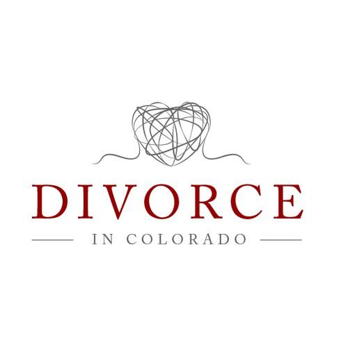 Creative logo for Divorce in Colorado