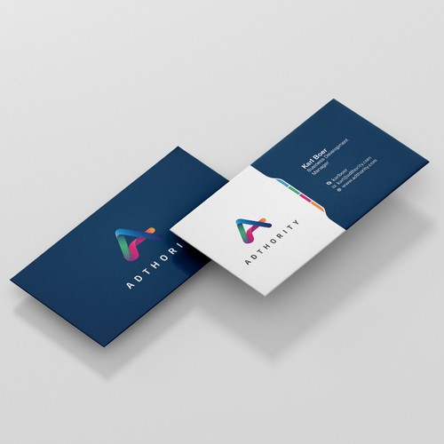 Business Card design for Adthority