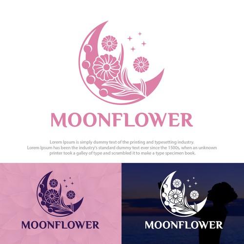 Moon Flower Wellness Logo