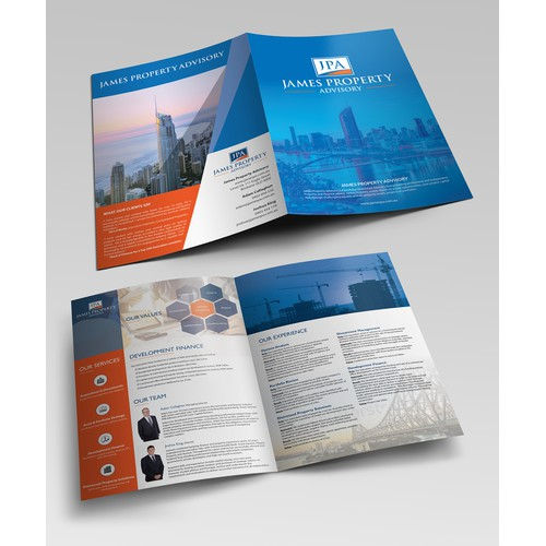 James Property Advisory bi-fold brochure
