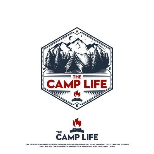 Camping Company Logo Design