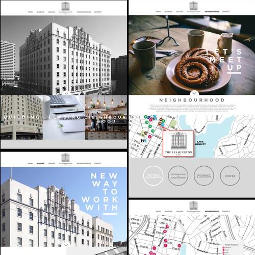 Winner For Building complex website contest