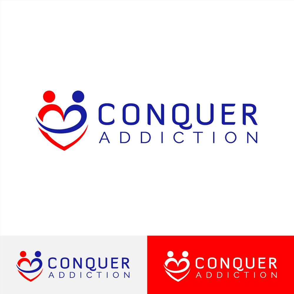 Create a simple, powerful logo for Conquer Addiction -- lots of feedback guaranteed!