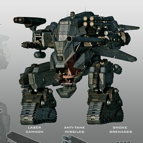 Unique Robopod Design
