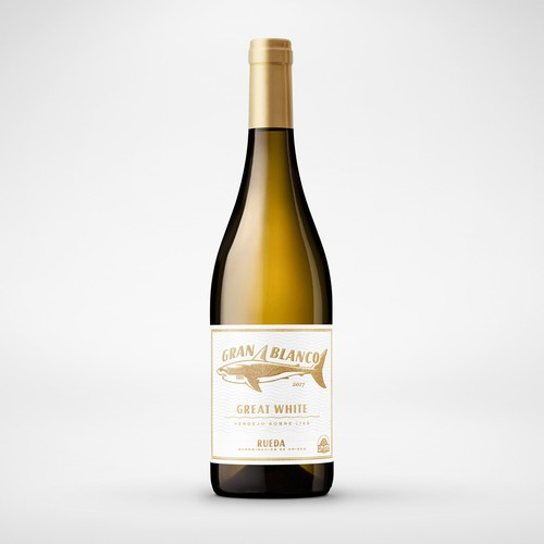 Gran Blanco Rueda Wine Label