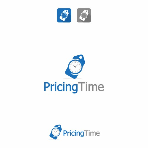 logo concept for Pricing Time