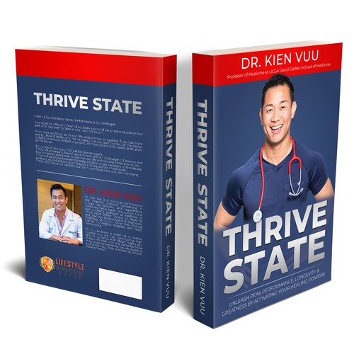 Book cover 'THRIVE STATE'