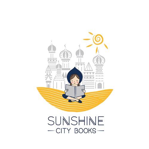 logo for sunshine city books