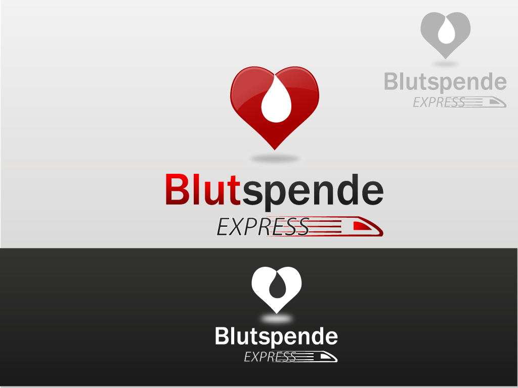 Create the next logo for Blutspende Express