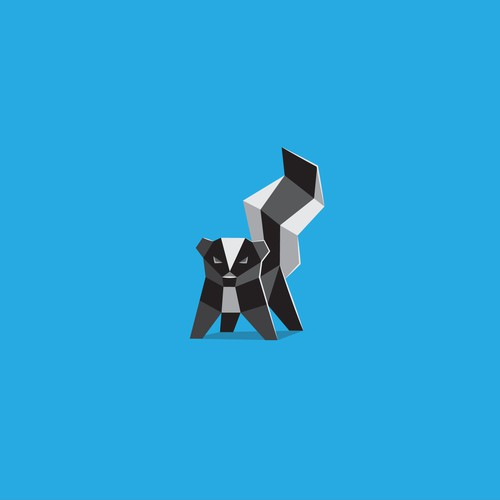 Low poly skunk (Skunk Capital)