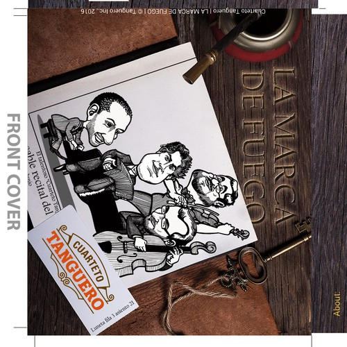 Artwork for Tango CD Cover