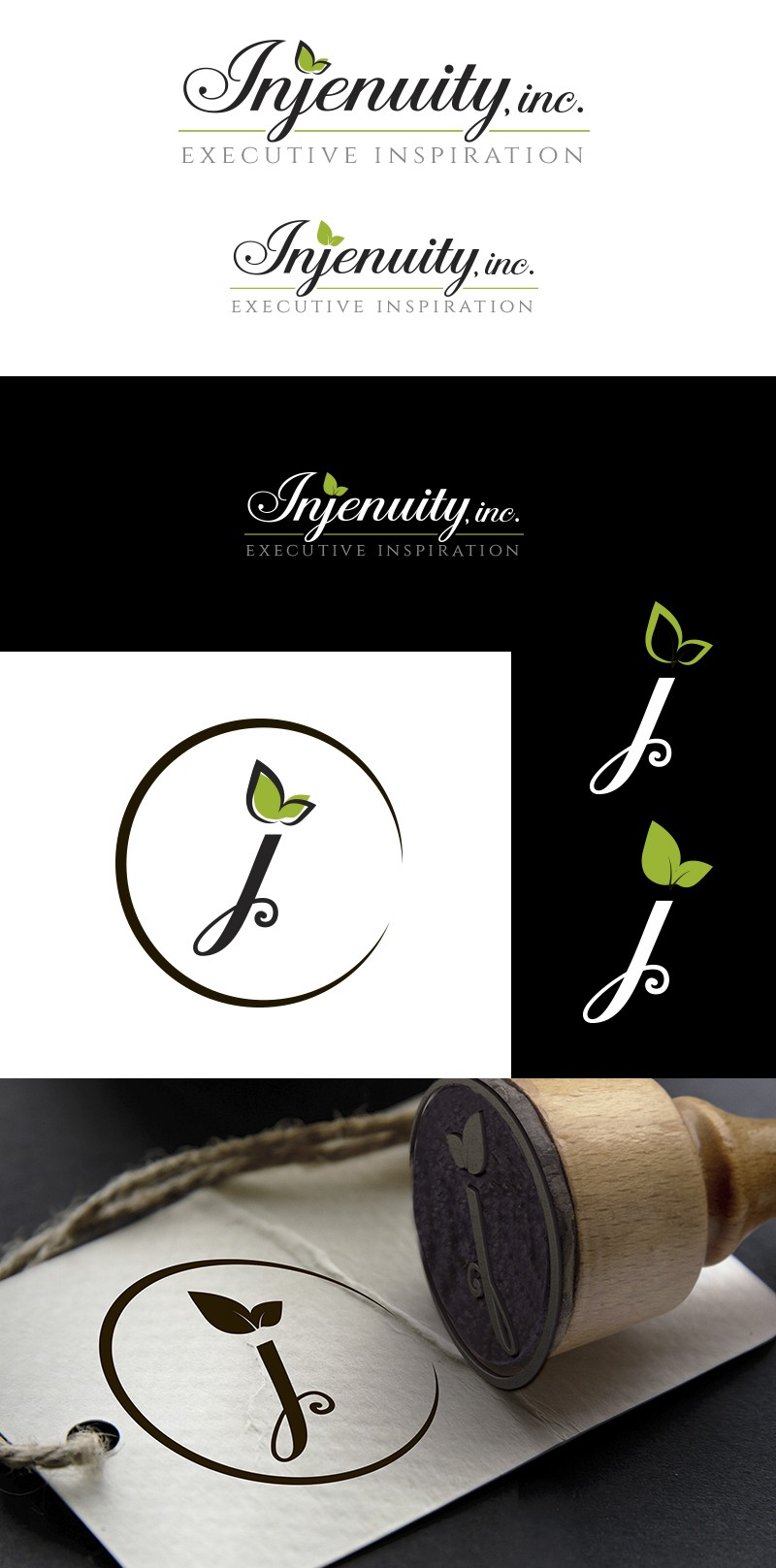 Create an Intriguing and Sophisticated logo for a Female Executive Consultant