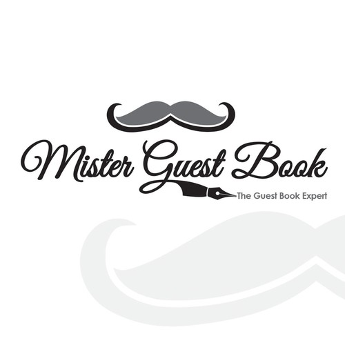 Logo Concept for Mister Guest Book