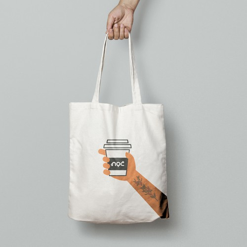 Tote Bag Design simple attractive