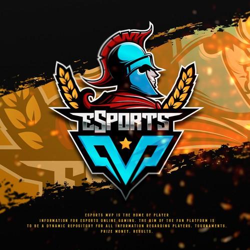 eSports Gaming Website Logo Design