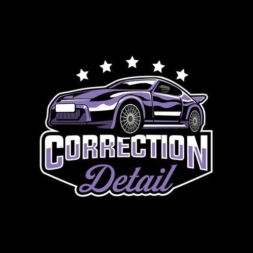 logo correction detail