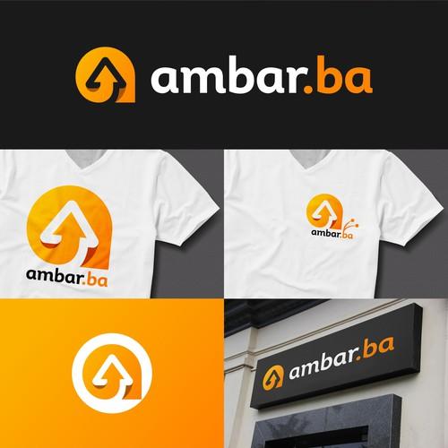 logo design for ambar.ba