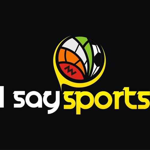 Help I SAY SPORTS with a new logo