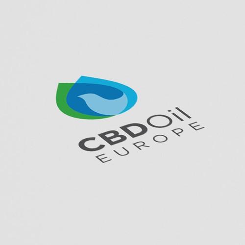 Innovative logo for CBD Oil Europe
