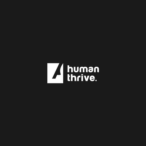 human logo concept