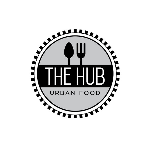 Bold Clean Deisgn for Urban Food Hub