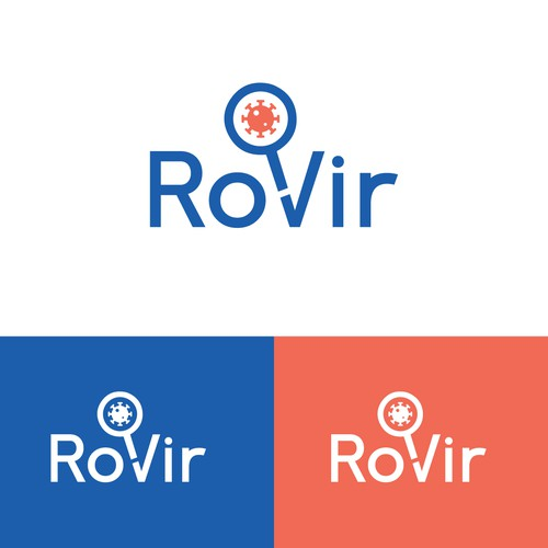 Logo for a company that tests for viruses
