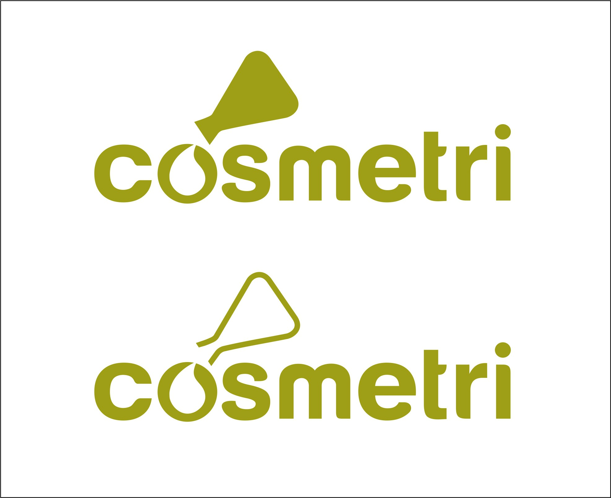Create a professional new brand design for Cosmetri