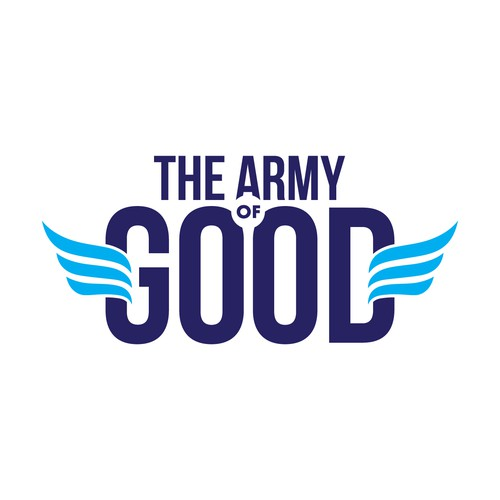Bold Logo for The Army of Good