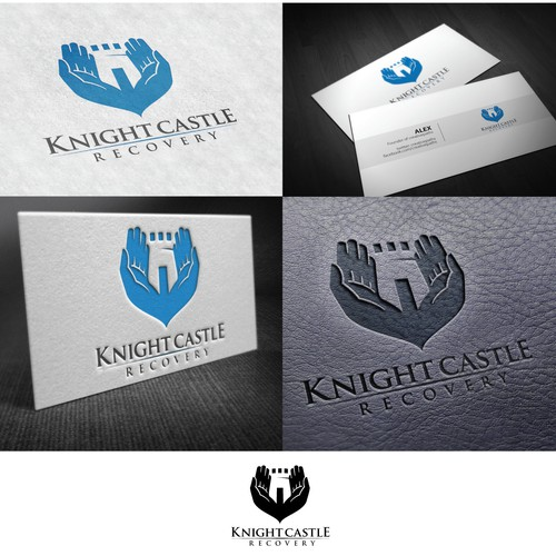 New logo and business card wanted for Knight Castle Recovery