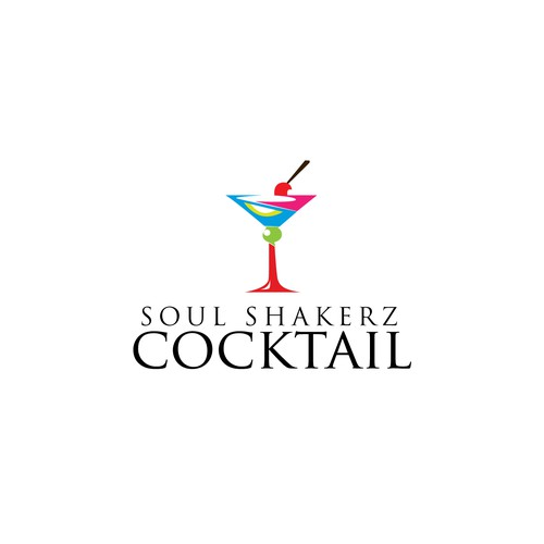 A cool logo for an innovative cocktail porduct