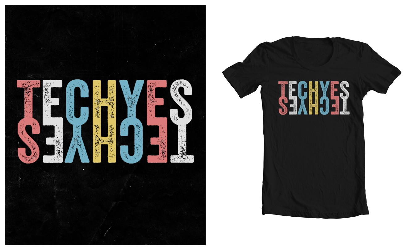 "Help Our EDM  Brand With A New ""TECHYES"" Design"