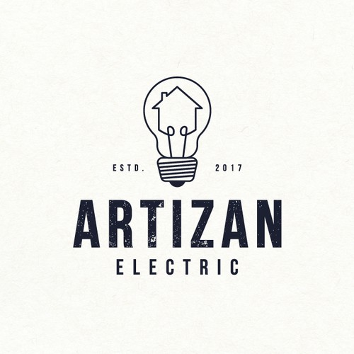 Logo design for electric decoration company