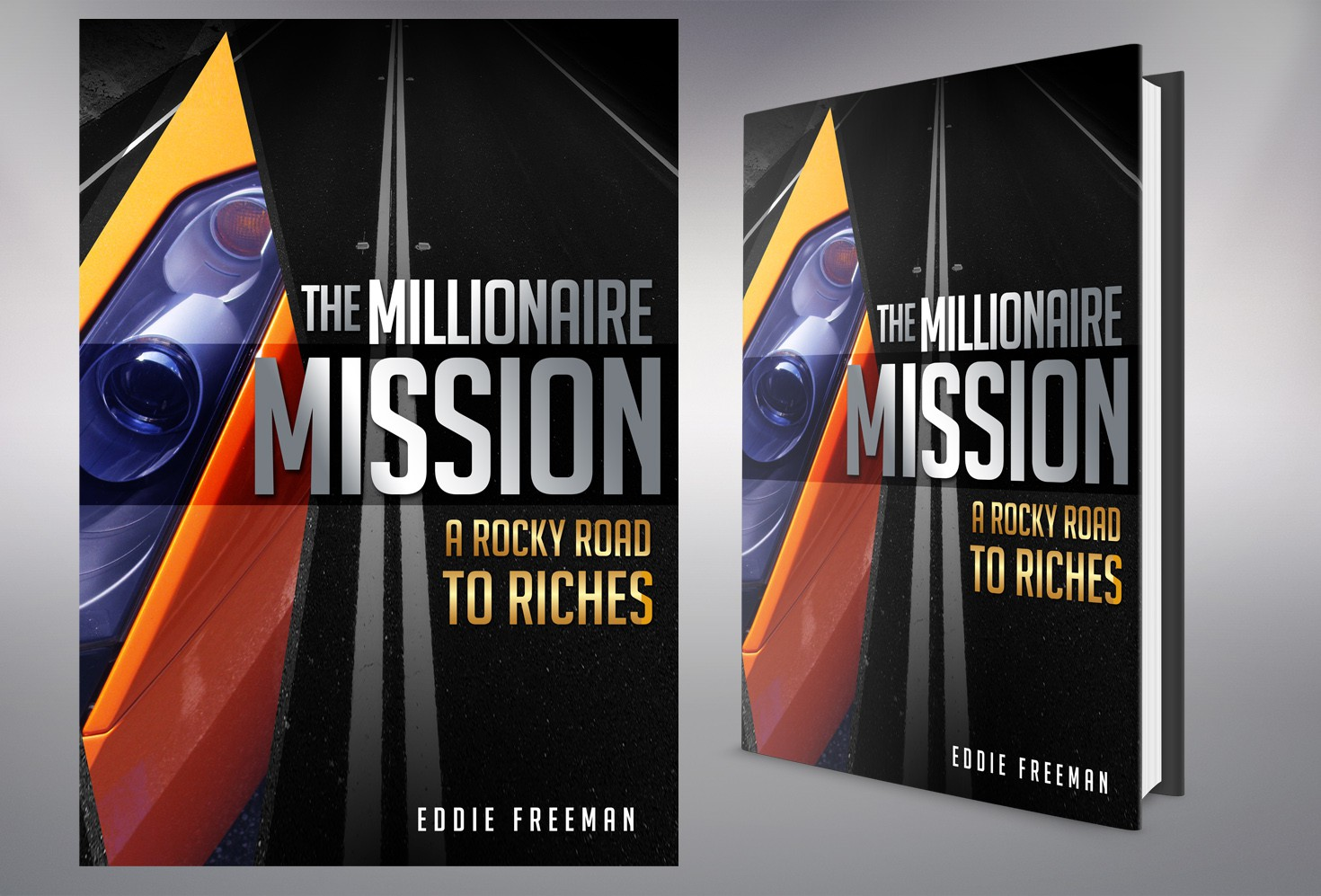 Book Cover Wanted - The Millionaire Mission