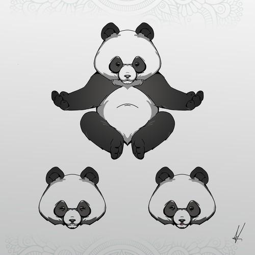 Zen Mascot for App